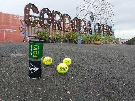 Dunlop Fort en el Córdoba Open